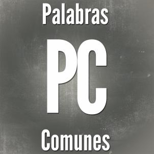 Blog Palabras Comunes